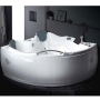 Ariel Platinum Whirlpool Bath Tub 60.4 x 60.4