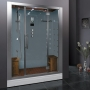 Ariel Platinum - DZ972F8-W Steam Shower - 59 x 31.5