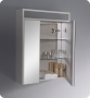 Light Oak Bathroom Medicine Cabinet w/ 3 Shelves