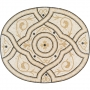 Stone Medallion Collection - 47x39